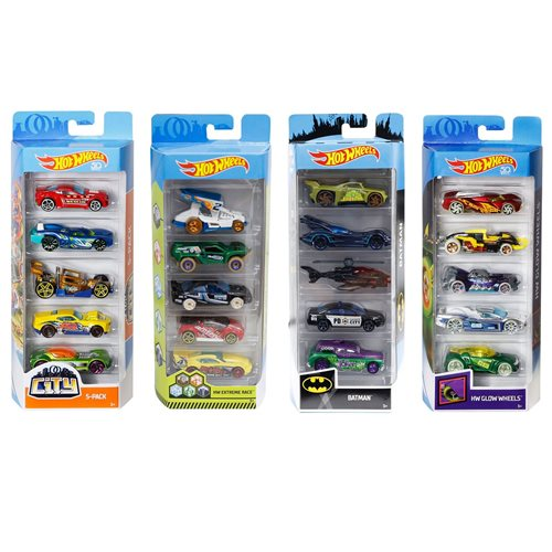 Hot Wheels 2019 5-Car Pack Wave 11 Case