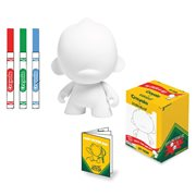 Kidrobot Crayola 4-Inch Do-It-Yourself Foomi Vinyl Figure