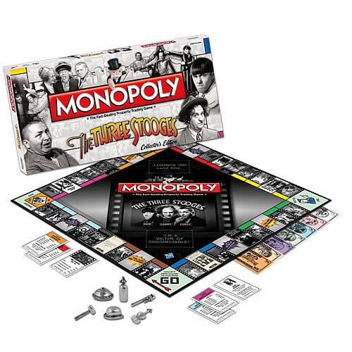 Three Stooges Collector's Edition Monopoly