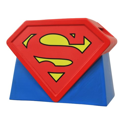 Superman: The Animated Series Logo Cookie Jar