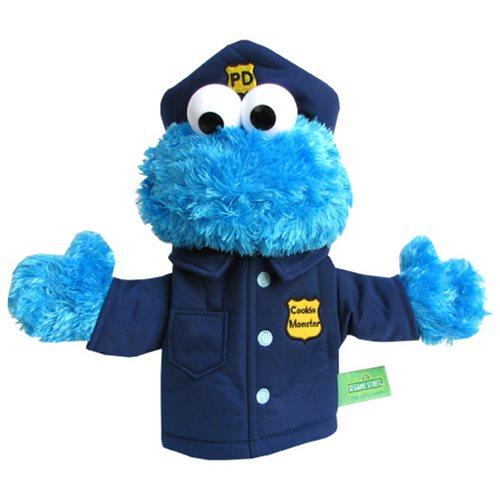 Sesame Street Cookie Monster Police Officer Puppet Entertainment