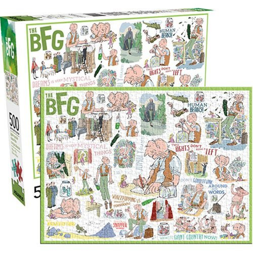 Roald Dahl The BFG 500-Piece Puzzle