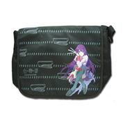 Bakemonogatari Hitagi Black Messenger Bag