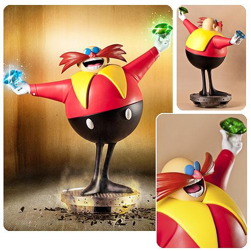Sonic The Hedgehog Dr Ivo Eggman Robotnik Statue Entertainment Earth