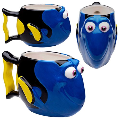 Finging Dory Ceramic Molded Mug