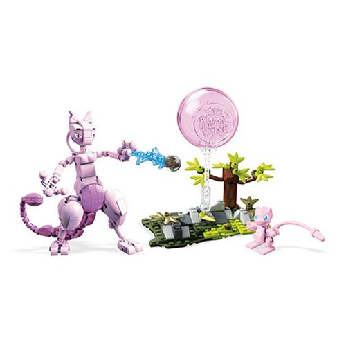 Mega Construx Pokemon Mew vs. Mewtwo Clash Playset