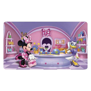 Minnie Mouse Chair Rail Giant Ultra-Strippable Prepasted Mural