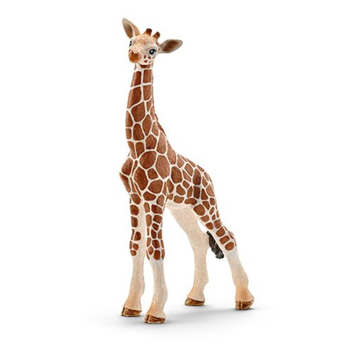 Wild Life Giraffe Calf Collectible Figure