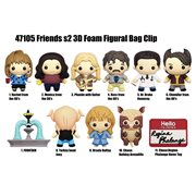 Friends Series 2 Figural Bag Clip Display Case