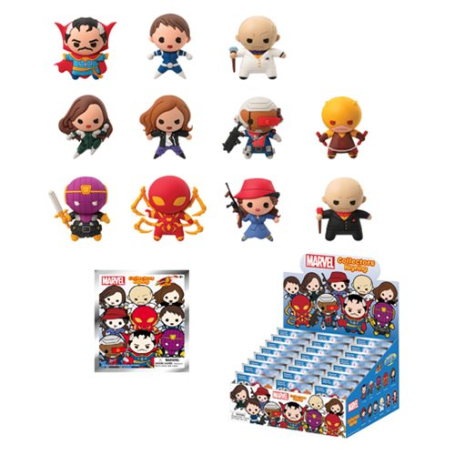 Marvel Series 8 3-D Figural Key Chain 6-Pack