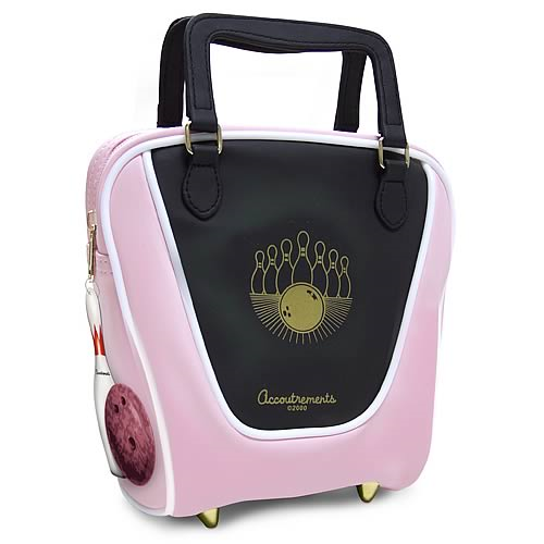 Pink Mini Bowling Bag Purse
