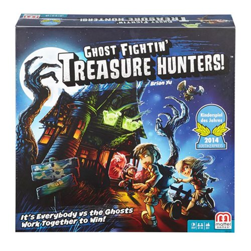 Ghost Fightin Treasure Hunters Board Game