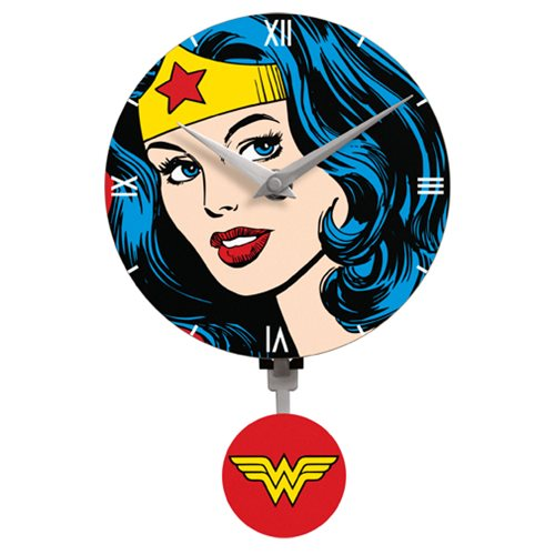 Wonder Woman Mini Motion Wall Clock