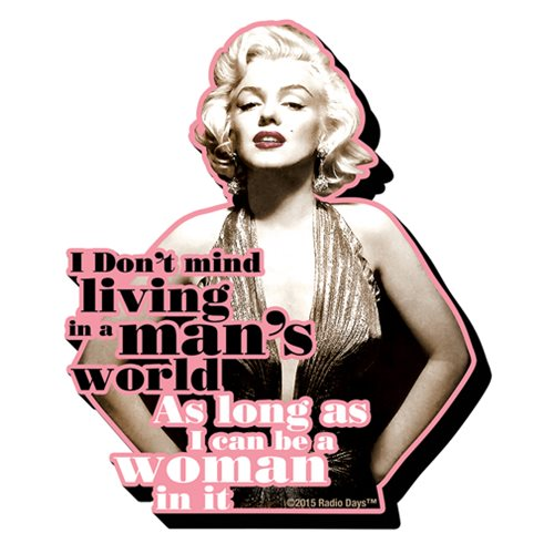 Marilyn Monroe Quote Funky Chunky Magnet