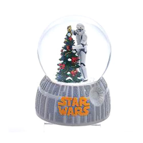 Star Wars Musical Stormtrooper and Tree 4-Inch Water Globe