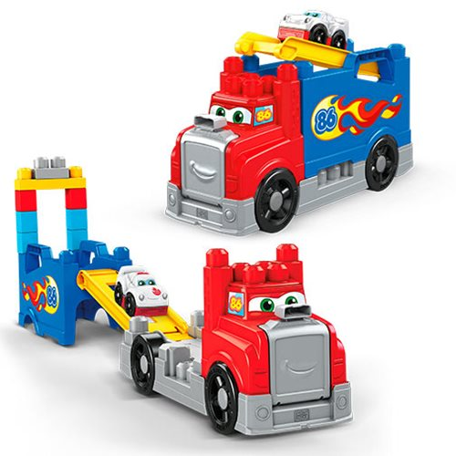 Mega Bloks Build and Race Rig Playset