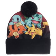 Pokemon Sublimated Pom Beanie