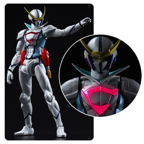 Infini-T Force Casshan Fighter Gear Version Tatsunoko Heroes Fighting Gear Action Figure