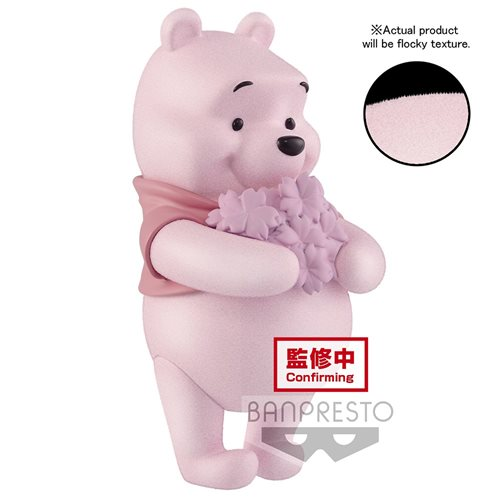 Winnie the Pooh Fluffy Puffy Cherry Blossoms Style Ver. A Q Posket Statue