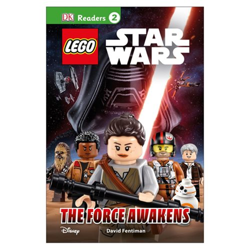 LEGO Star Wars: The Force Awakens DK Readers 2 Hardcover Book