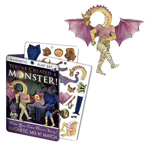 You've Created a Monster! Dress-Up Magnet Set