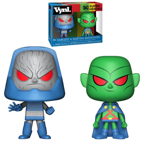 DC Comics Martian Manhunter and Darkseid Vynl. Figure 2-Pack
