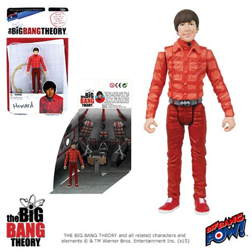 The Big Bang Theory Howard 3 3/4-Inch Action Figure Series 1, Not Mint
