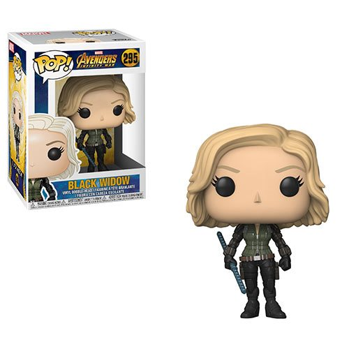 Avengers: Infinity War Black Widow Pop! Vinyl Figure