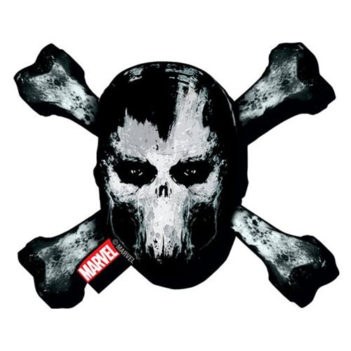 Captain America: Civil War Crossbones Logo Funky Chunky Magnet