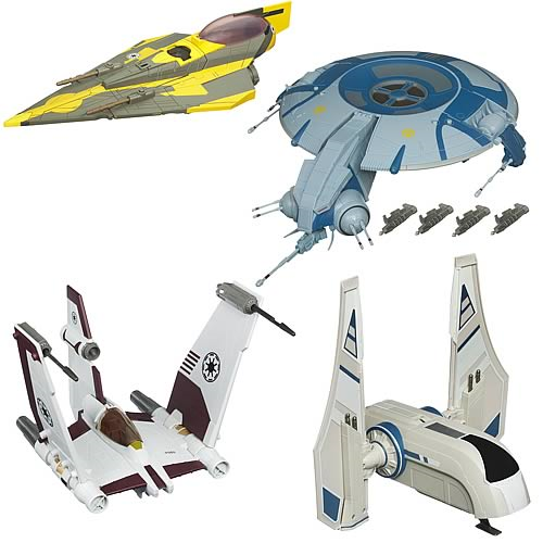 Star Wars and Clone Wars Vehicles Wave 7