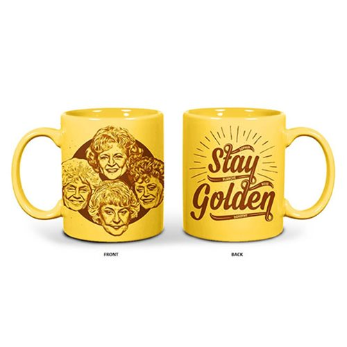 c3cc0ac9f76 Golden Girls Stay Golden Yellow Mug - Entertainment Earth