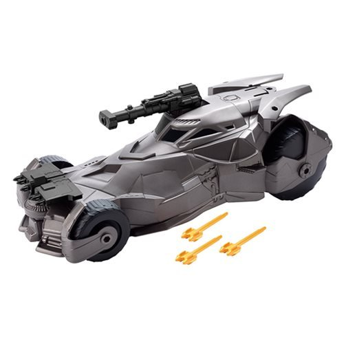 Justice League Movie Mega Cannon Batmobile Vehicle
