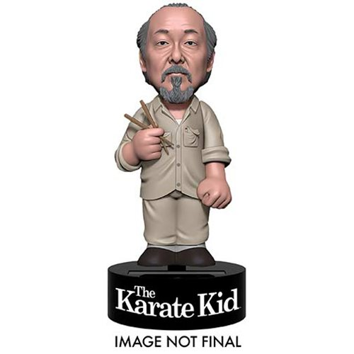 Karate Kid Mr. Miyagi Solar Powered Body Knocker