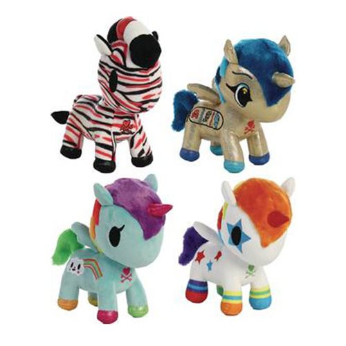 Tokidoki Unicorno 8 1/2-Inch Plush Case