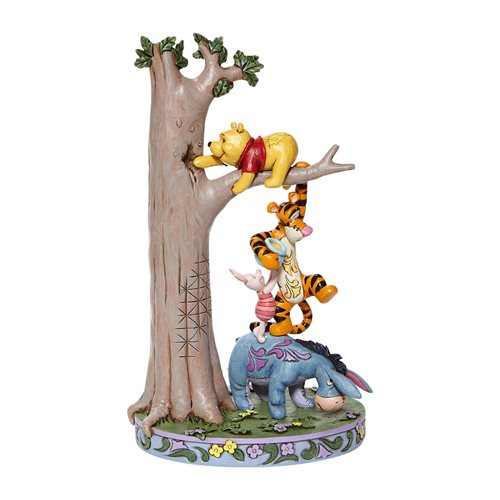 Disney Traditions Tree with Pooh and Friends Hundred Acre Caper by Jim Shore Statue