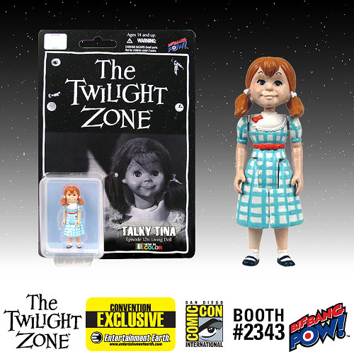 The Twilight Zone Talky Tina 3 3/4-Inch Scale Action Figure In Color  Series 1 - Convention Exclusive