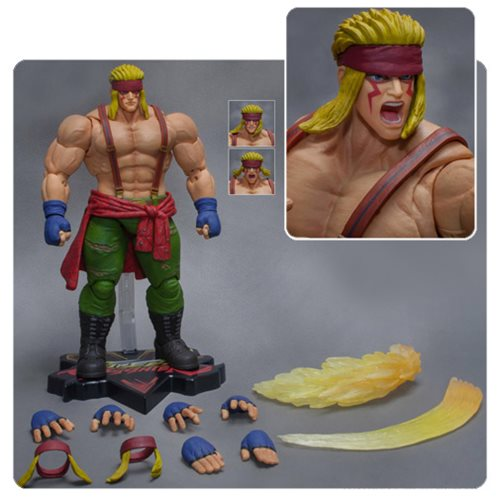 Street Fighter V Alex 1:12 Scale Action Figure