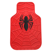 Spider-Man Marvel Red Rubber Floor Mat 2-Pack