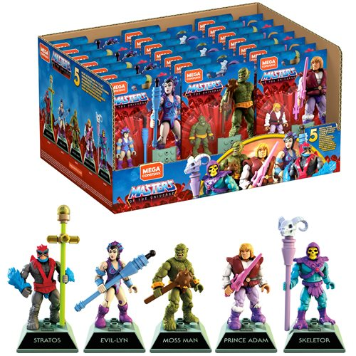 Mega Construx Heroes Wave 1 Mini-Figure Case