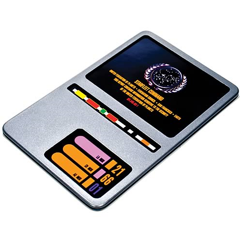 Star Trek TNG DS9 PADD Large Prop Replica