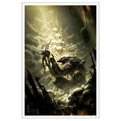 Predator: Prey to the Heavens Issue #2 by Raymond Swanland Lithograph