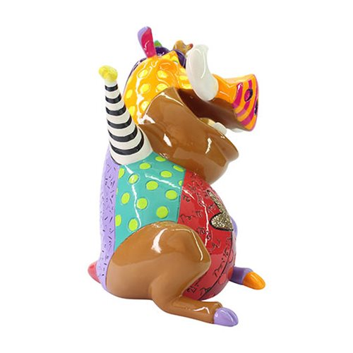 Disney Lion King Simba Timon and Pumba Statue by Romero Britto