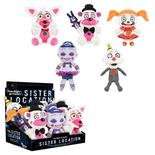 Five Nights at Freddy's Sister Location 8-Inch Plush Case
