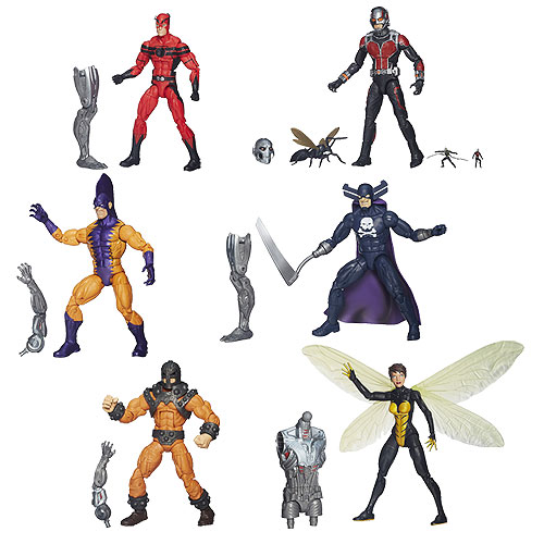 Ant-Man Marvel Legends Action Figures Wave 1
