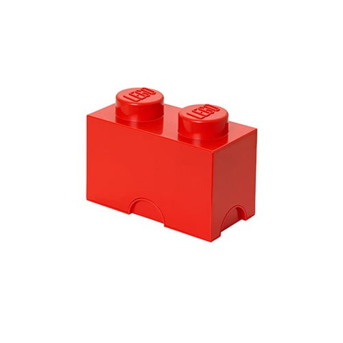 LEGO Bright Red Storage Brick 2