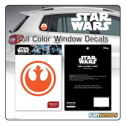 Star Wars Rebel Insignia Window Decal