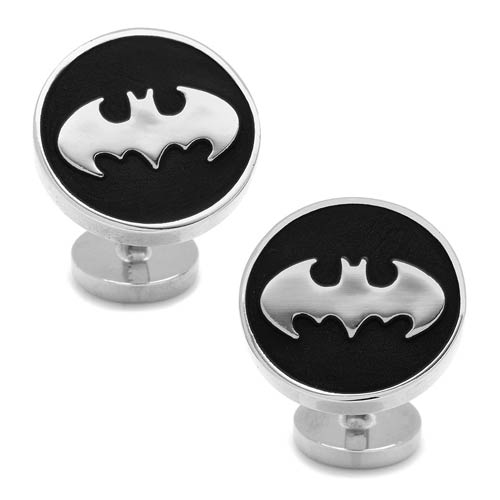 Batman Recessed Black Cufflinks