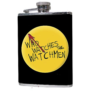 Watchmen Who Watches the Watchmen Flask