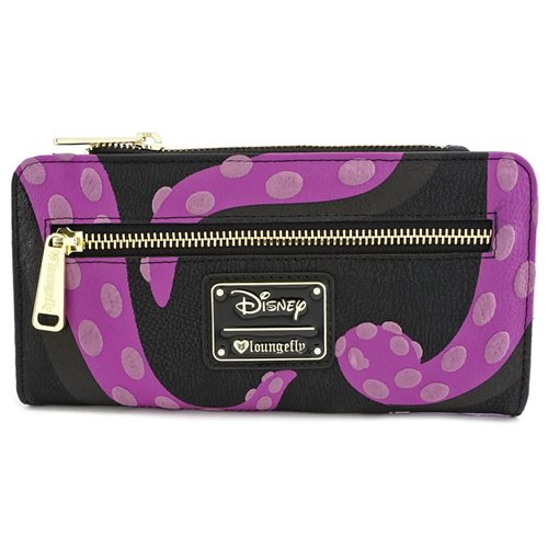 The Little Mermaid Ursula Zip Around Wallet