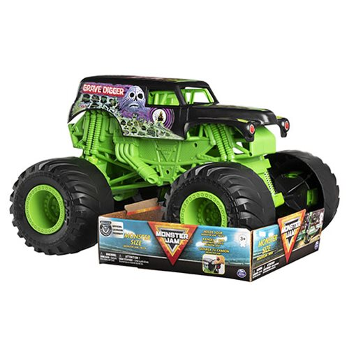 Monster Jam 1:10 Scale Monster Size Grave Digger Monster Truck